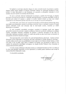 RASPUNSUL MINISTERULUI AFACERILOR EXTERNE CATRE BISERICA PENTICOSTALA - CAZUL BODNARIU - PARTEA II